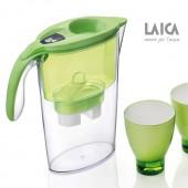 Filtračná kanvica LAICA STREAM LINE GREEN + 3ks filtrov a poháre ZADARMO
