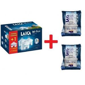 LAICA Bi-flux 5ks +1ks ZDARMA - vodný filter, Biflux (aj pre BWT, Anna, Brita maxtra)