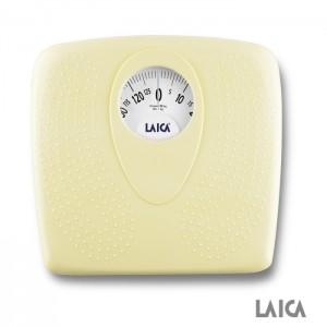 Analógová osobná váha LAICA PL8019 žltá