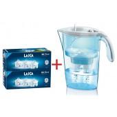 Vodný filter LAICA Bi-flux 6ks + kanvica LAICA Stream ZADARMO